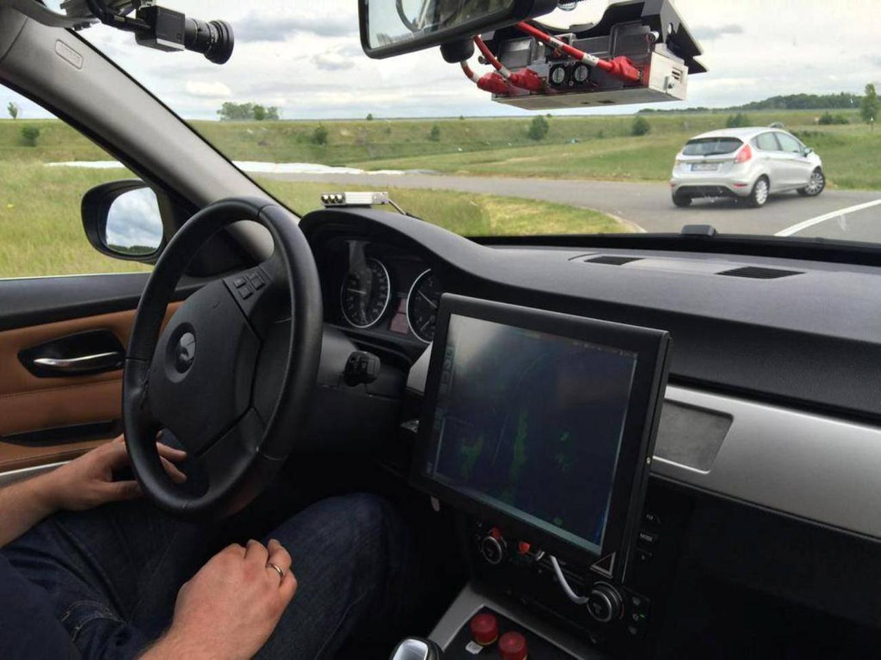 Az önjáró autó is tette meg első kilométereit