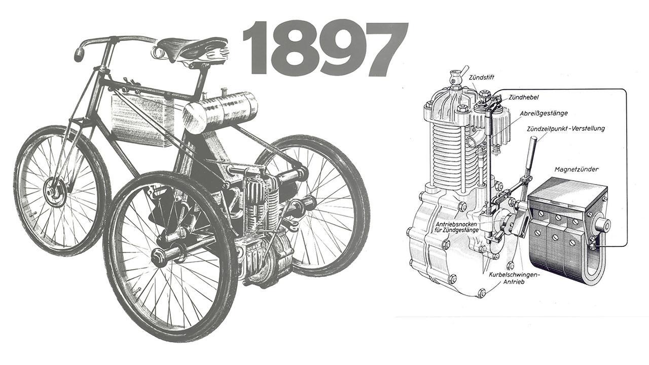 A motoros járművek elterjedésének kulcsa a gyújtásrendszer megszületése volt
