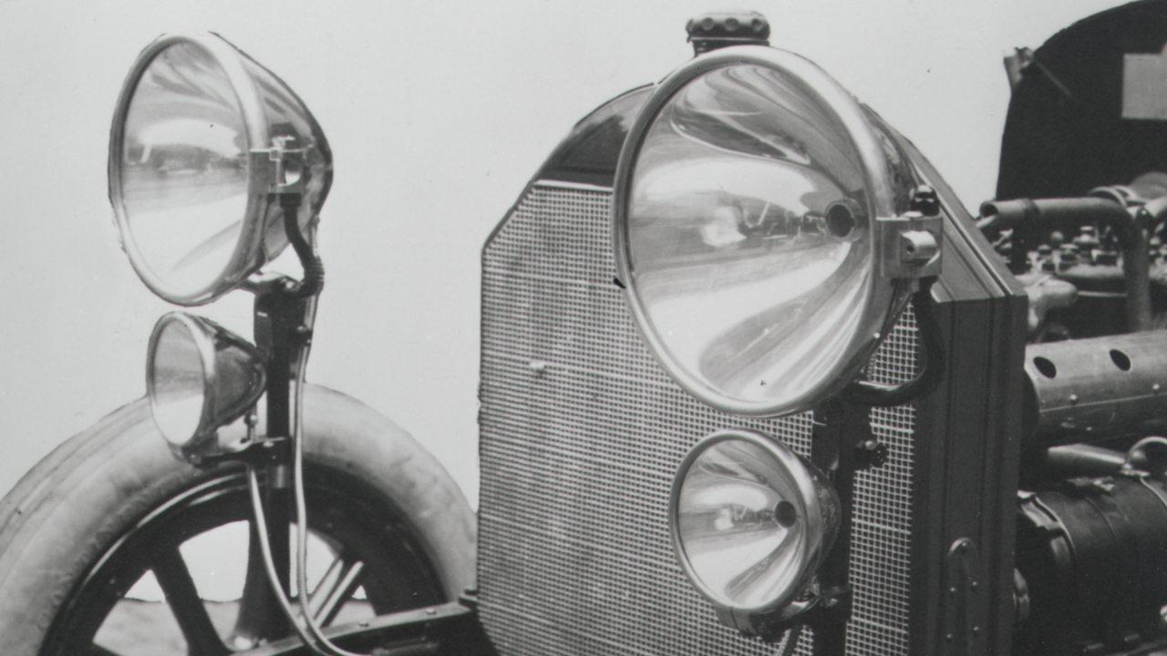 Bosch világítási rendszer 1913-ból