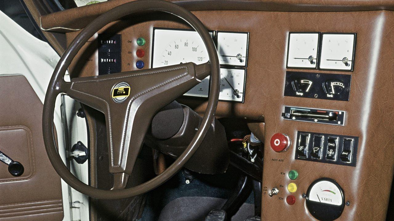 Egy Ford Escortból 1973-ban készített hibridhajtású autót a Bosch