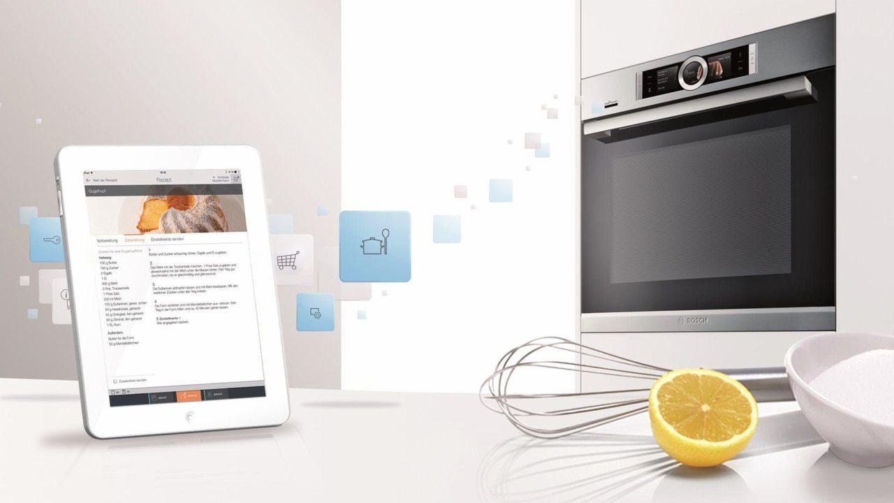 Az internetről kezelhető konyhai sütő már megtestesült valóság