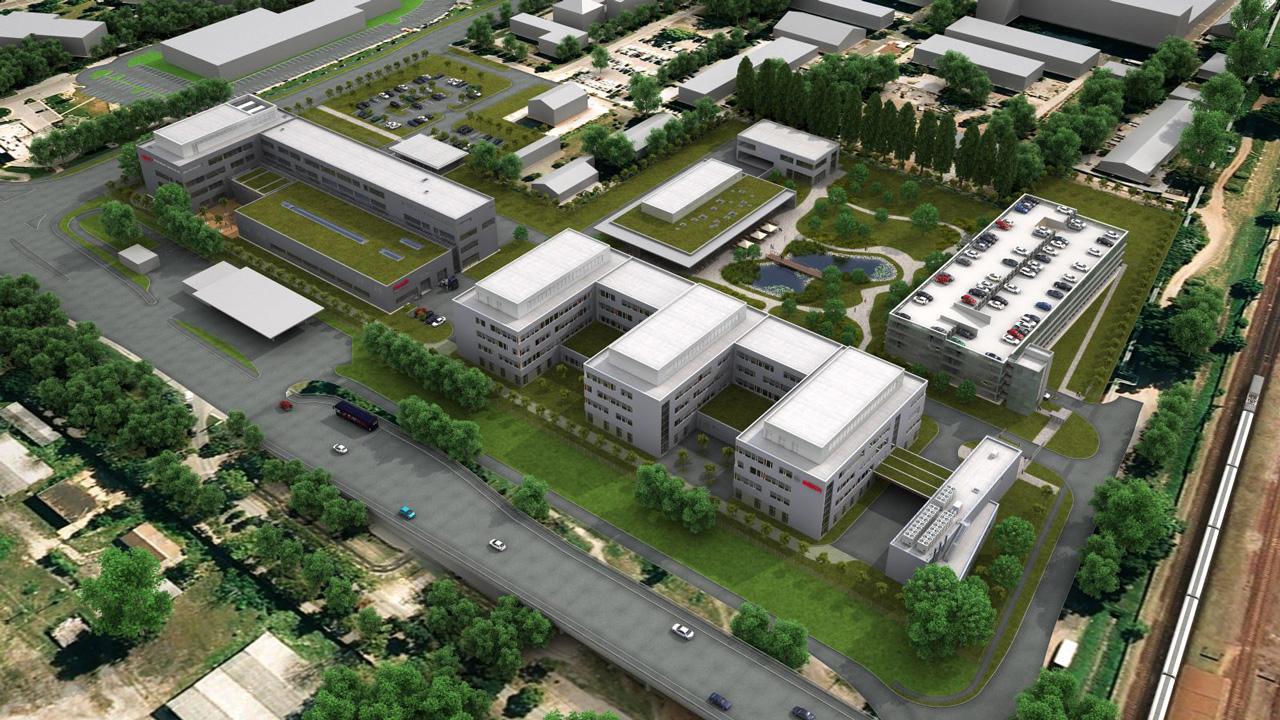 A Bosch egyik legnagyobb fejlesztési központja (Németországon kívül) épül Budapesten