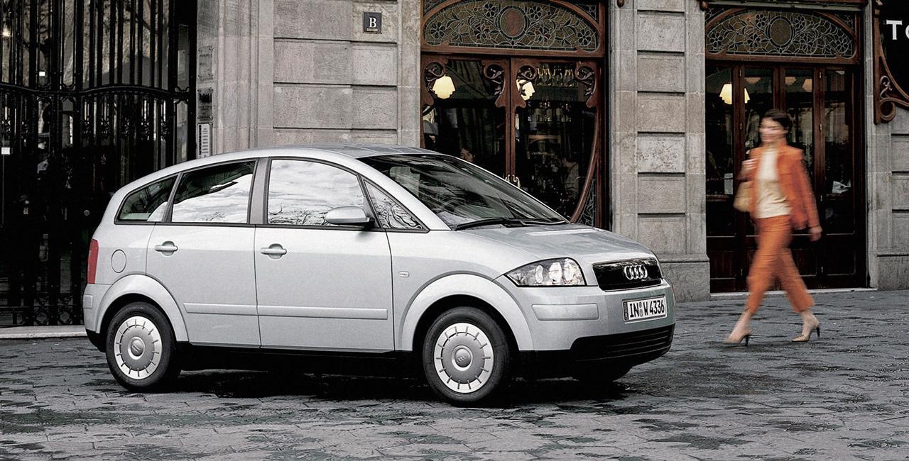 Az Audi A2 korának legtakarékosabb prémium autója volt