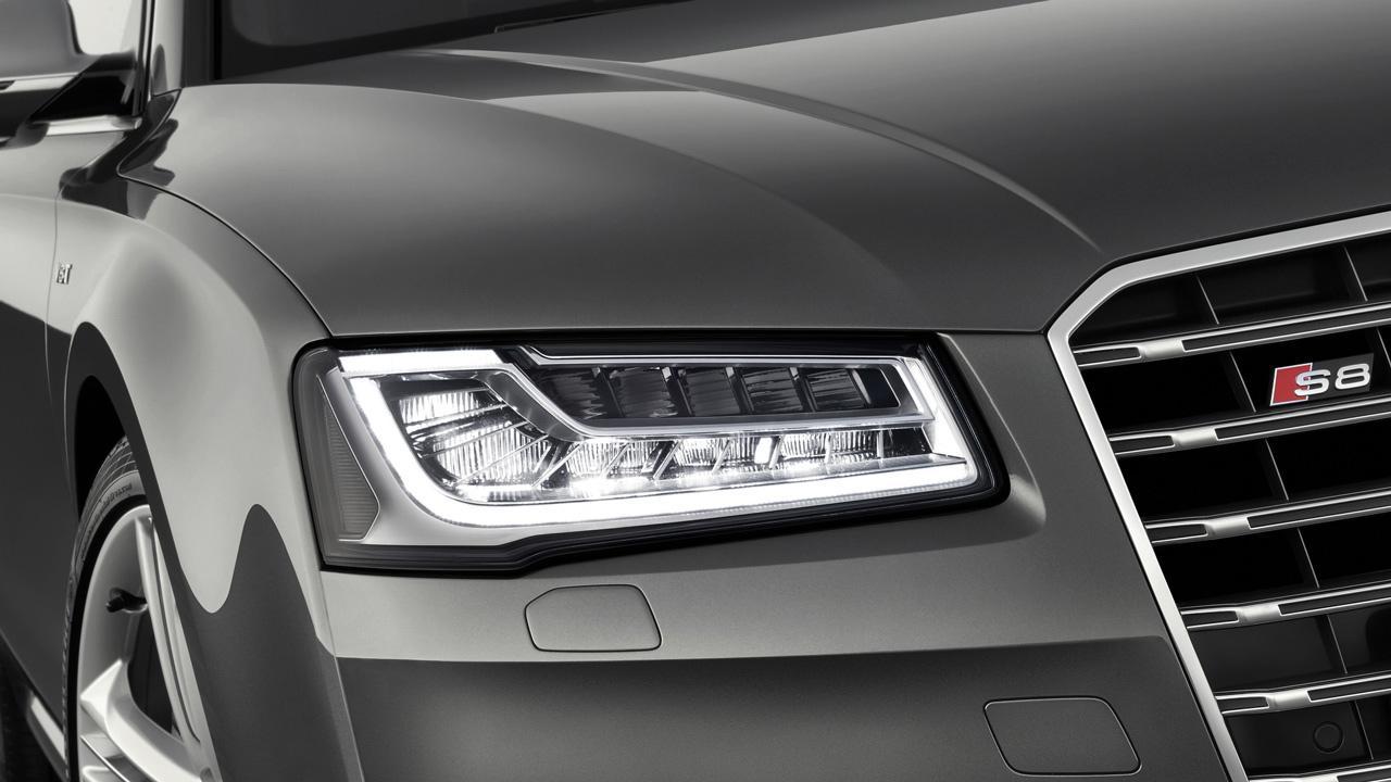 Az Audi Matrix LED fényszórója elsőként az S8-ban tűnt fel