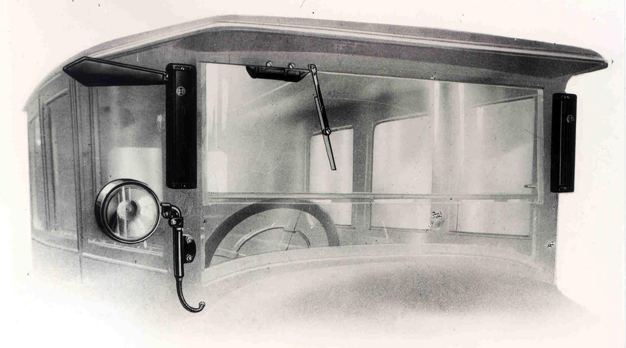 A Bosch Trafficator korának egyik legjelentősebb biztonságtechnikai fejlesztése volt