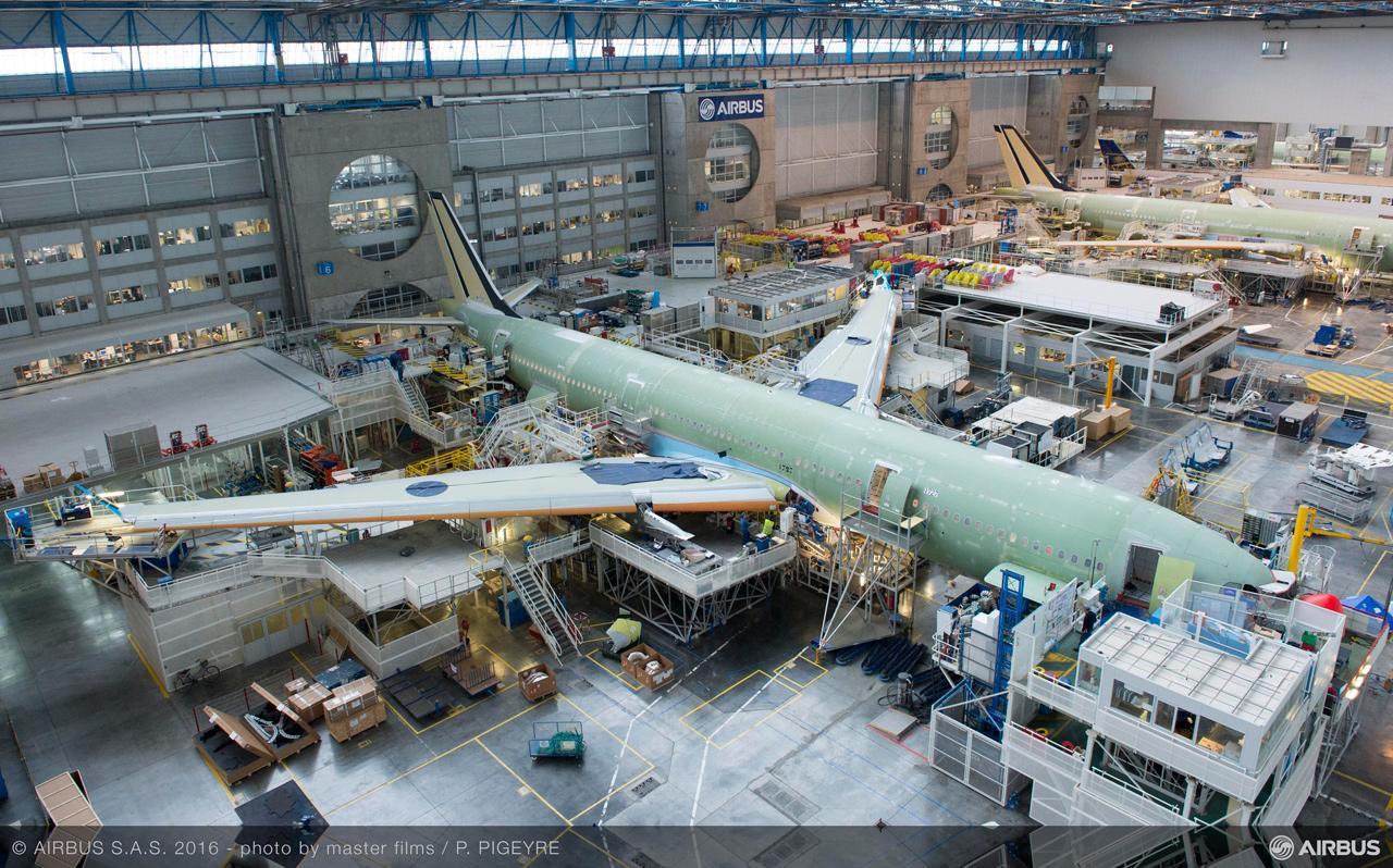 A repülőgépek gyártása meglehetősen összetett és bonyolult