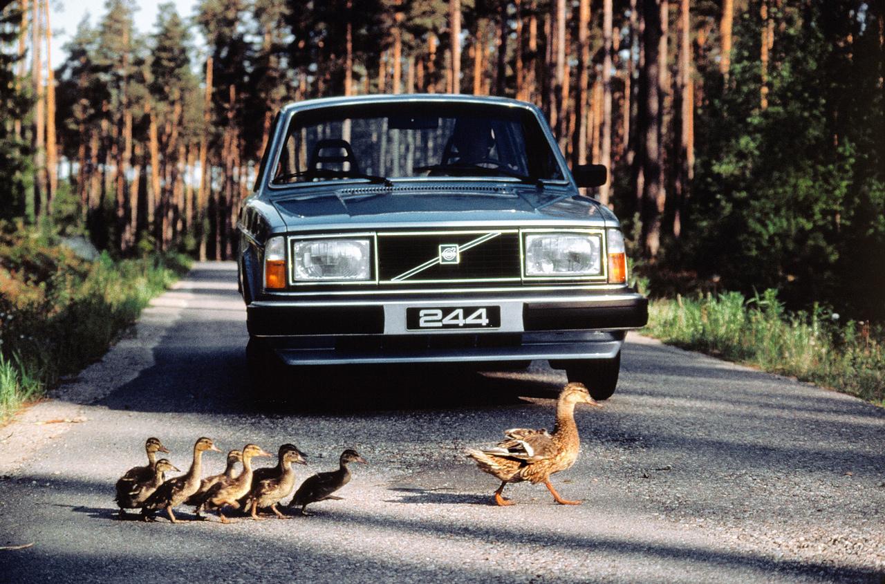 A Volvo nem csak biztonságáról, hanem tisztaságáról is híres volt már az 1970-es években is