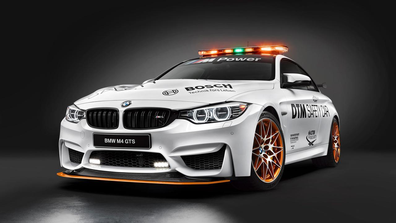 A Bosch által támogatott Német Túraautó-bajnokság biztonsági autója méltó szerep az M4 GTS számára