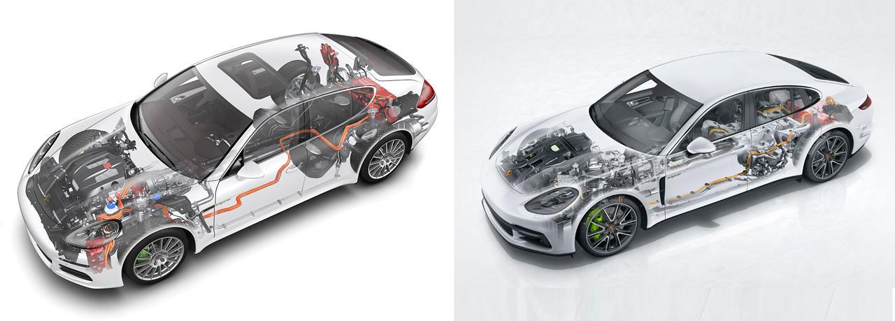 Egy generációs különbség: ez meg is látszik a Porsche Panamera hibrid változatának minden paraméterén