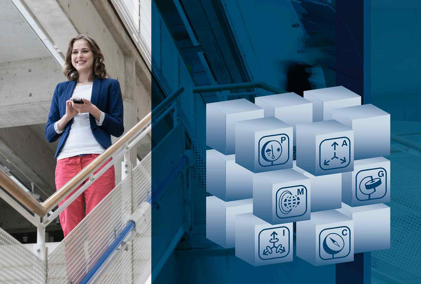 Világszerte minden második új okostelefonban a Bosch akár 20 érzékelője dolgozik már ma is, ezek például a gyorsulást, a hőmérsékletet vagy a légnyomást mérik. Képünk 2013-ban készült