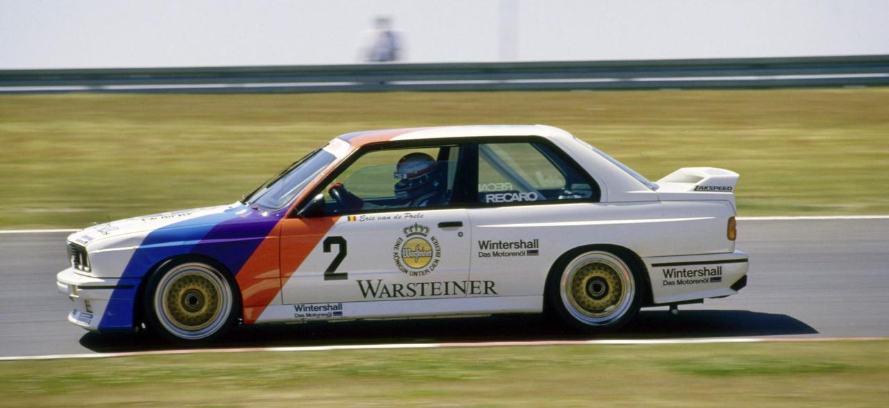 Eric van der Poele is egy BMW-vel diadalmaskodott, ám az akkori autók teljesen más elvek szerint épültek