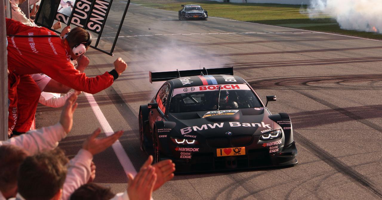 A BMW 2012-es visszatérésekor egyből a bajnoki címhez segítette Bruno Spenglert