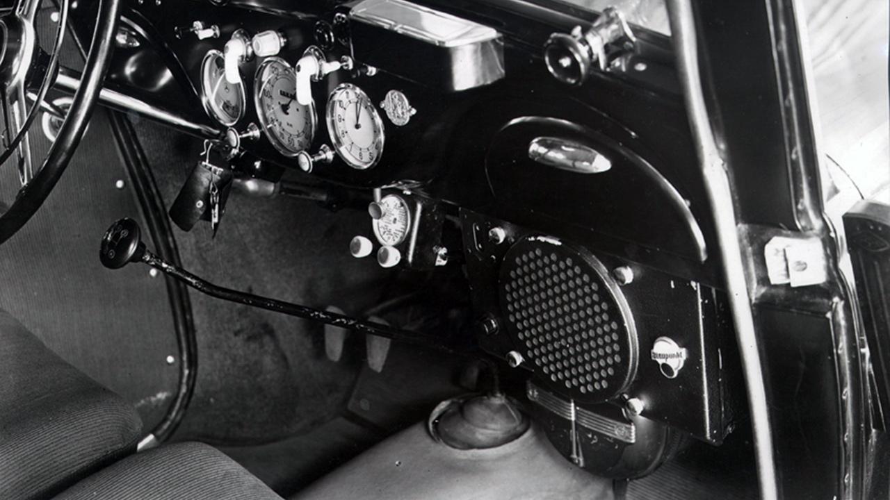 Európa első autórádiója