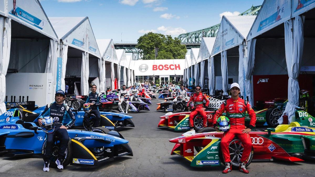 Az elektromos autók legfontosabb sorozata, a Forma-E sem maradhat Bosch nélkül