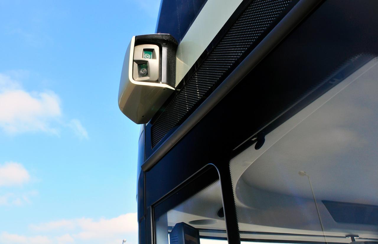 Neoplan Skyliner kamerák