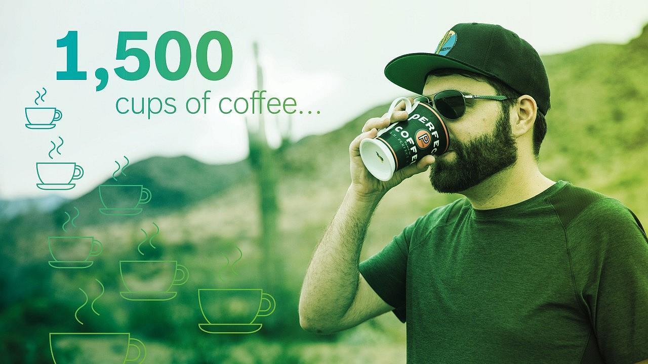 A projekt kezdete óta Christian Appel vezető mérnök körülbelül 1500 pohár kávét ivott