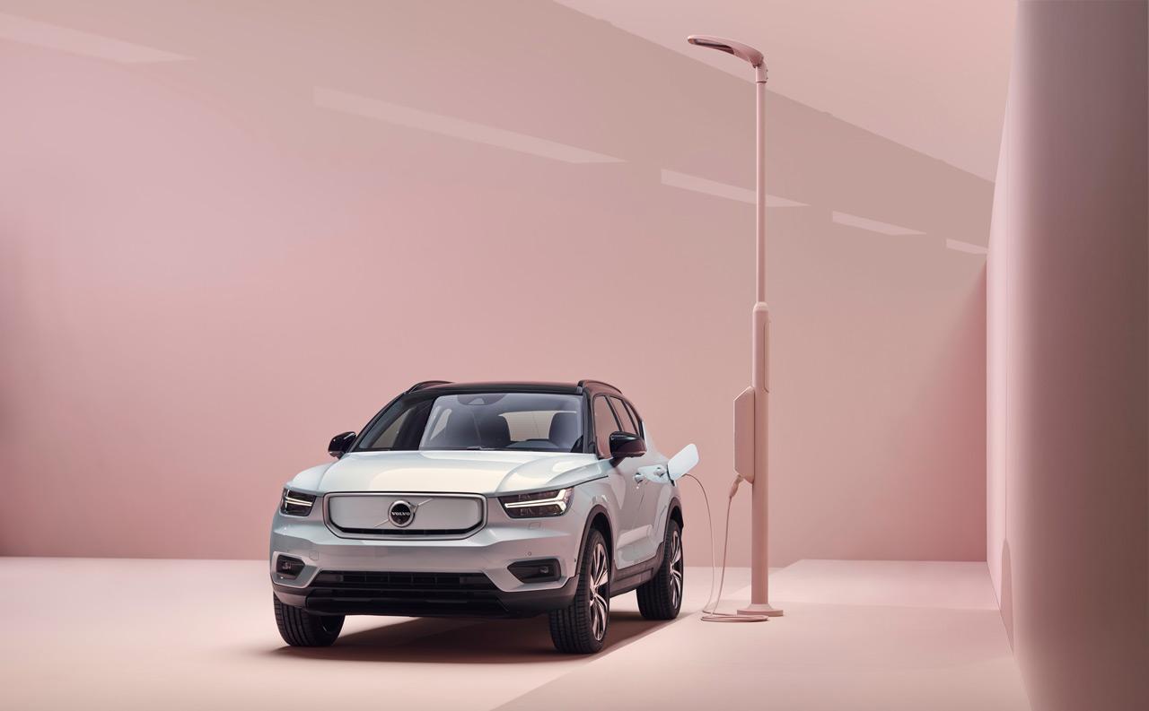 Volvo XC40 Recharge a gyártó első, kereskedelmi forgalomban is kapható elektromos modellje 2020-tól kapható