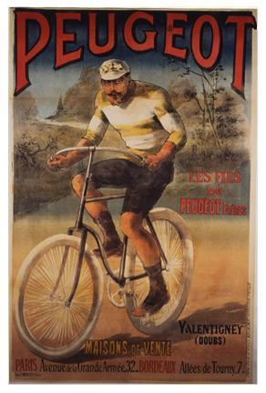 Az 1905-ös Tour de France győzelmi plakátja