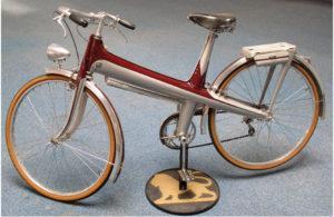 Alumínium vázas kerékpár 1941-ből