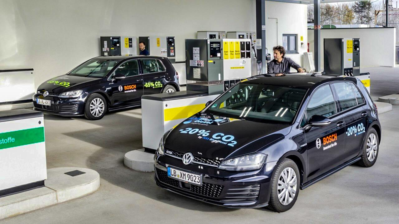 A Bosch elkötelezett a szintetikus üzemanyagok fejlesztése kapcsán
