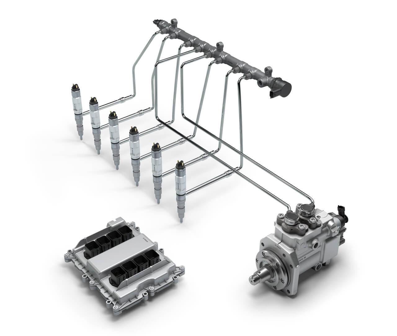 A Bosch moduláris befecskendezője az új erőforrás lelke