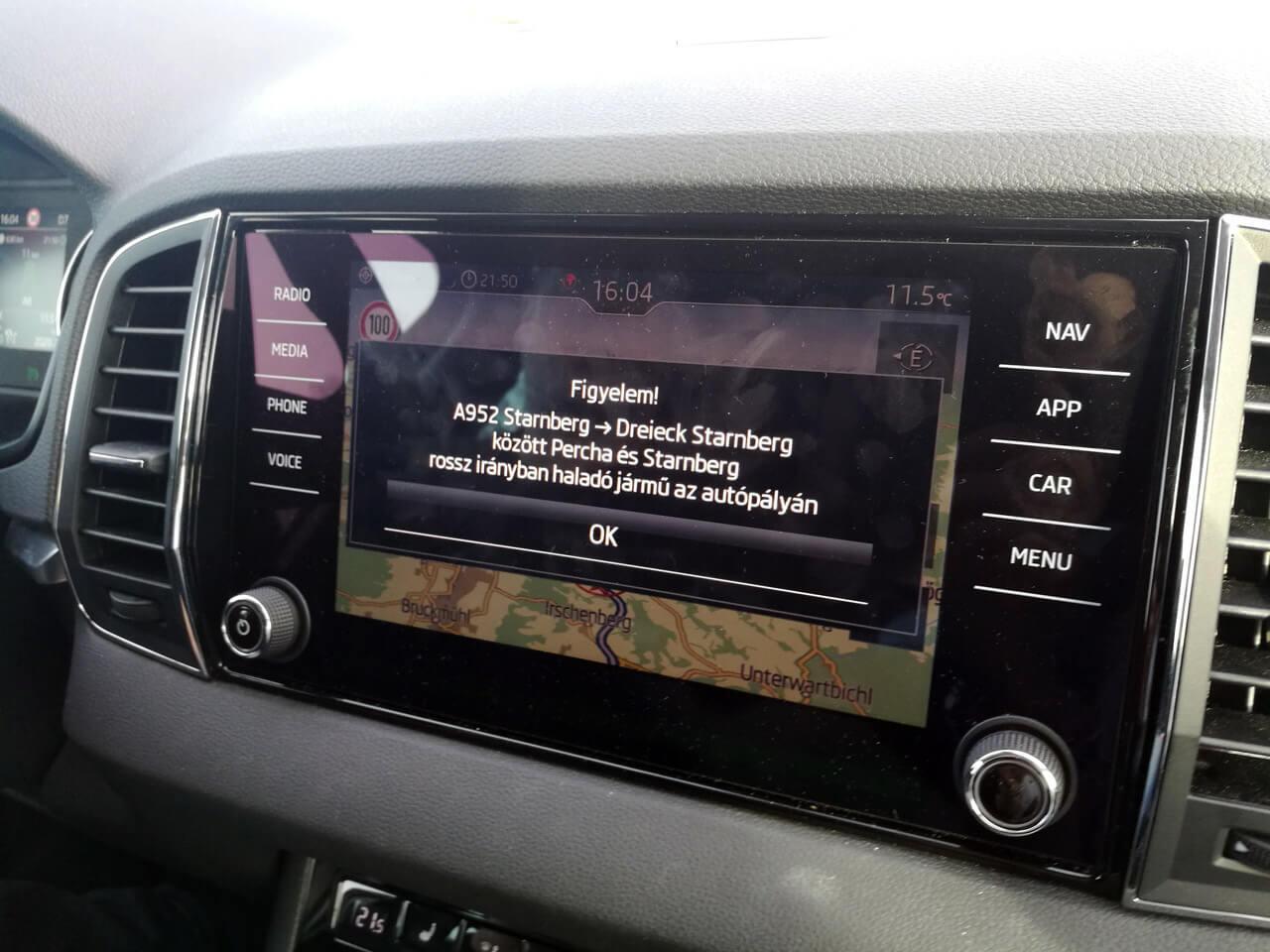 Eddig a rádióadók segítségére támaszkodhattak a ŠKODA tulajdonosok is, de mostantól az integrált applikáció is segít majd
