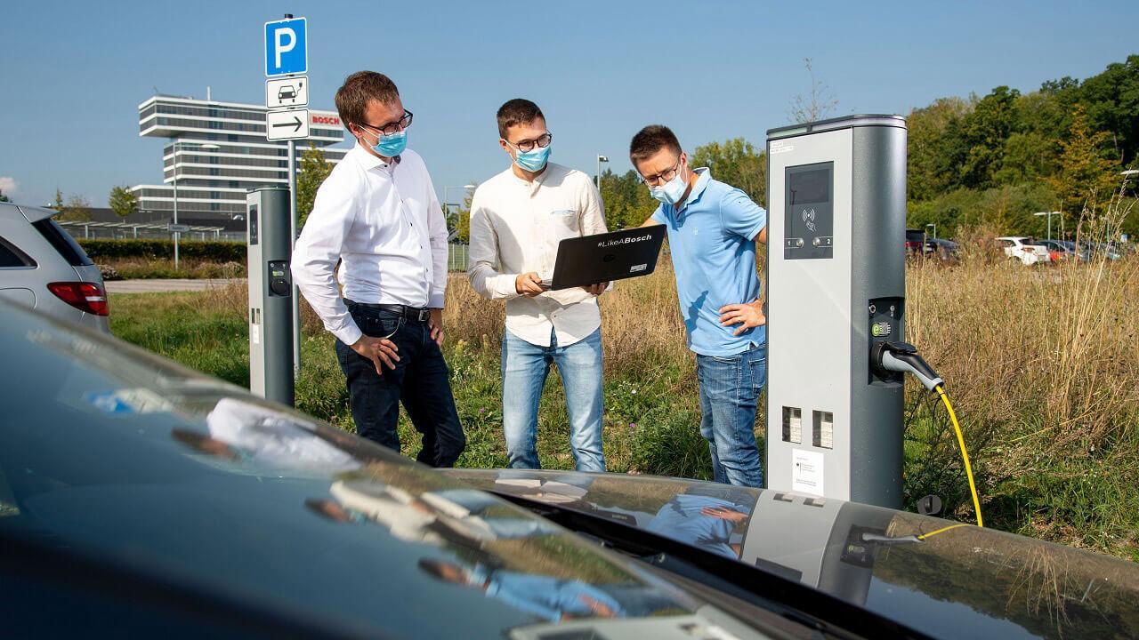 Munkában a Bosch mérnökcsapata: komoly lehetőségek rejlenek a technológiában