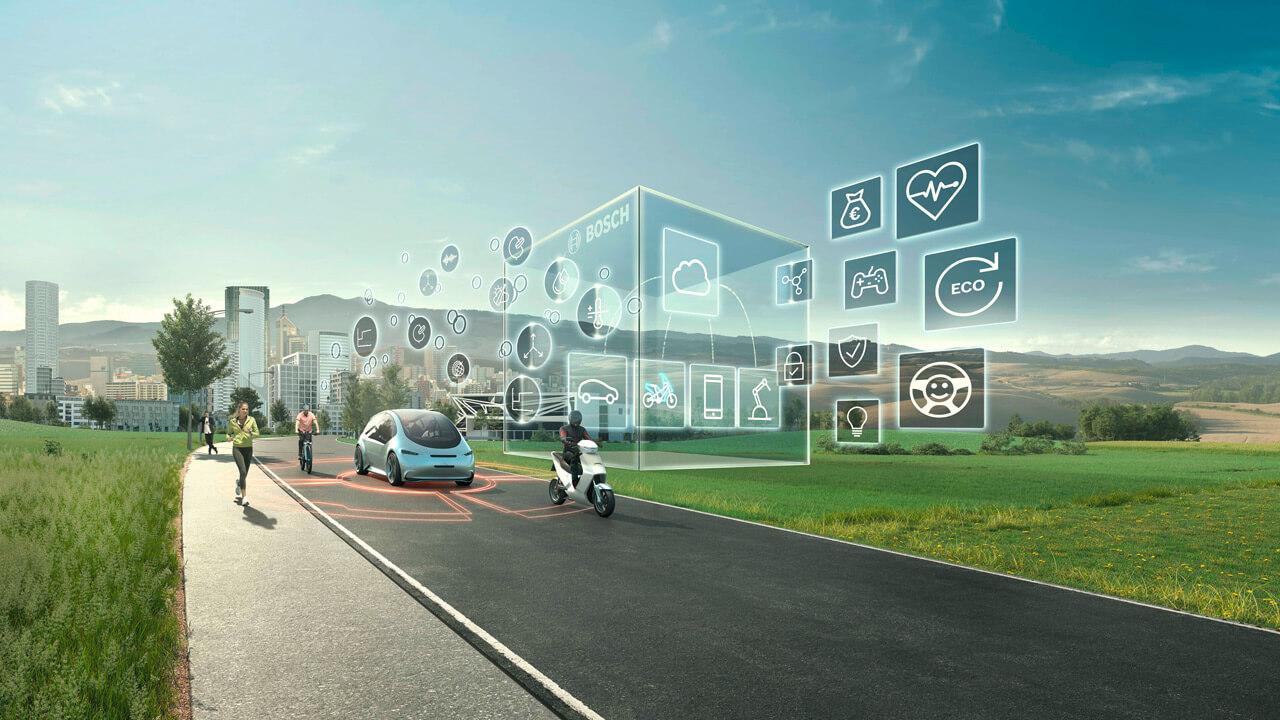 A Bosch célja az, hogy biztonságosabbá tegye a közlekedést minden résztvevő számára