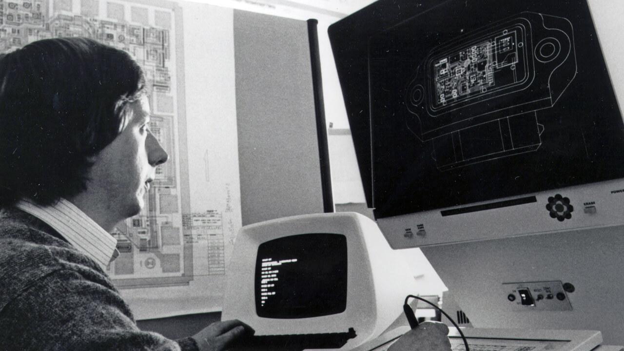 Fejlesztői környezet 1983-ból