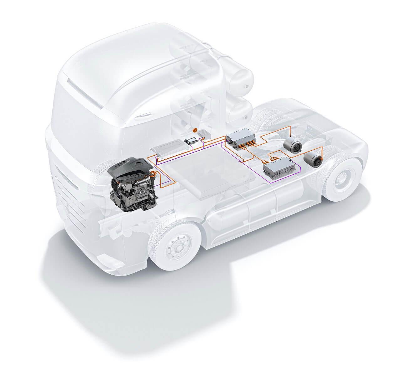Az üzemanyagcella megoldást jelenthet a tehergépjárművek villamosítása kapcsán, de személyautókban is telepített formában is van létjogosultsága