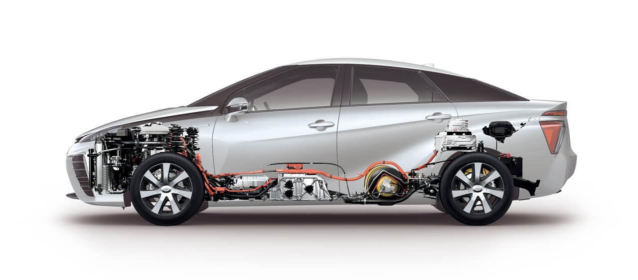 Az üzemanyagcellás autók gyakorlatilag elektromos járművek, csak az áramot maguknak állítják elő így azt nem kell nehéz és drága akkumulátorokban tárolni