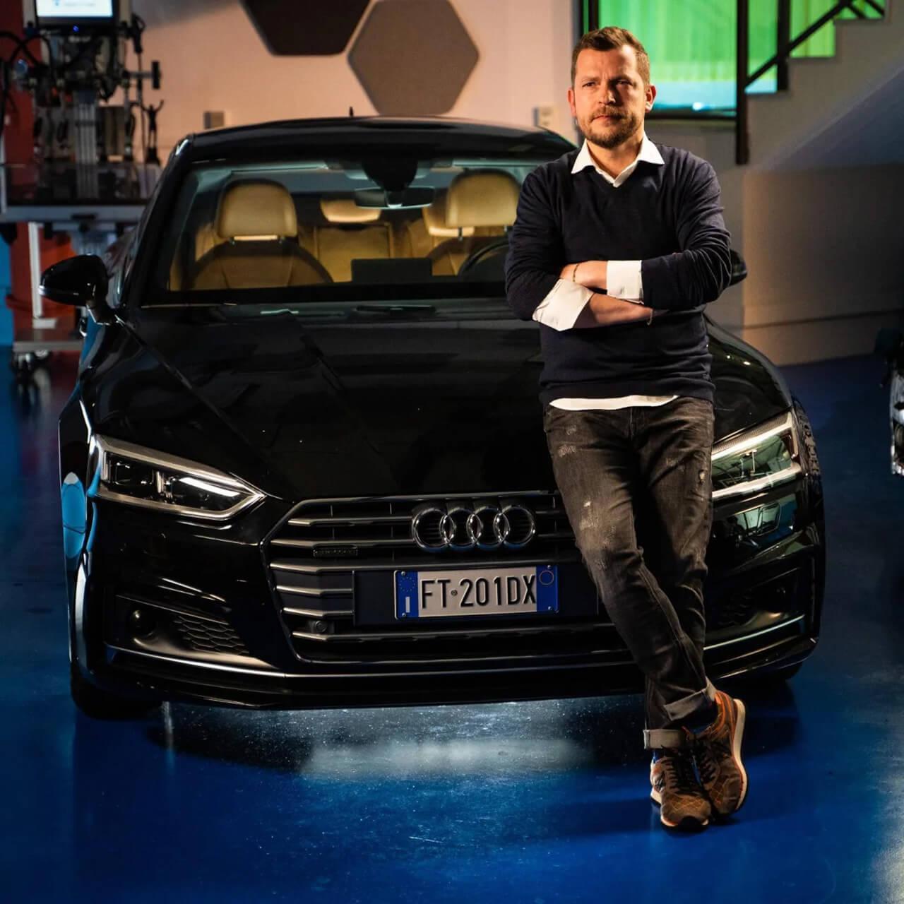 Giovanni Blandina az EasyRain műszaki vezérigazgató-helyettese
