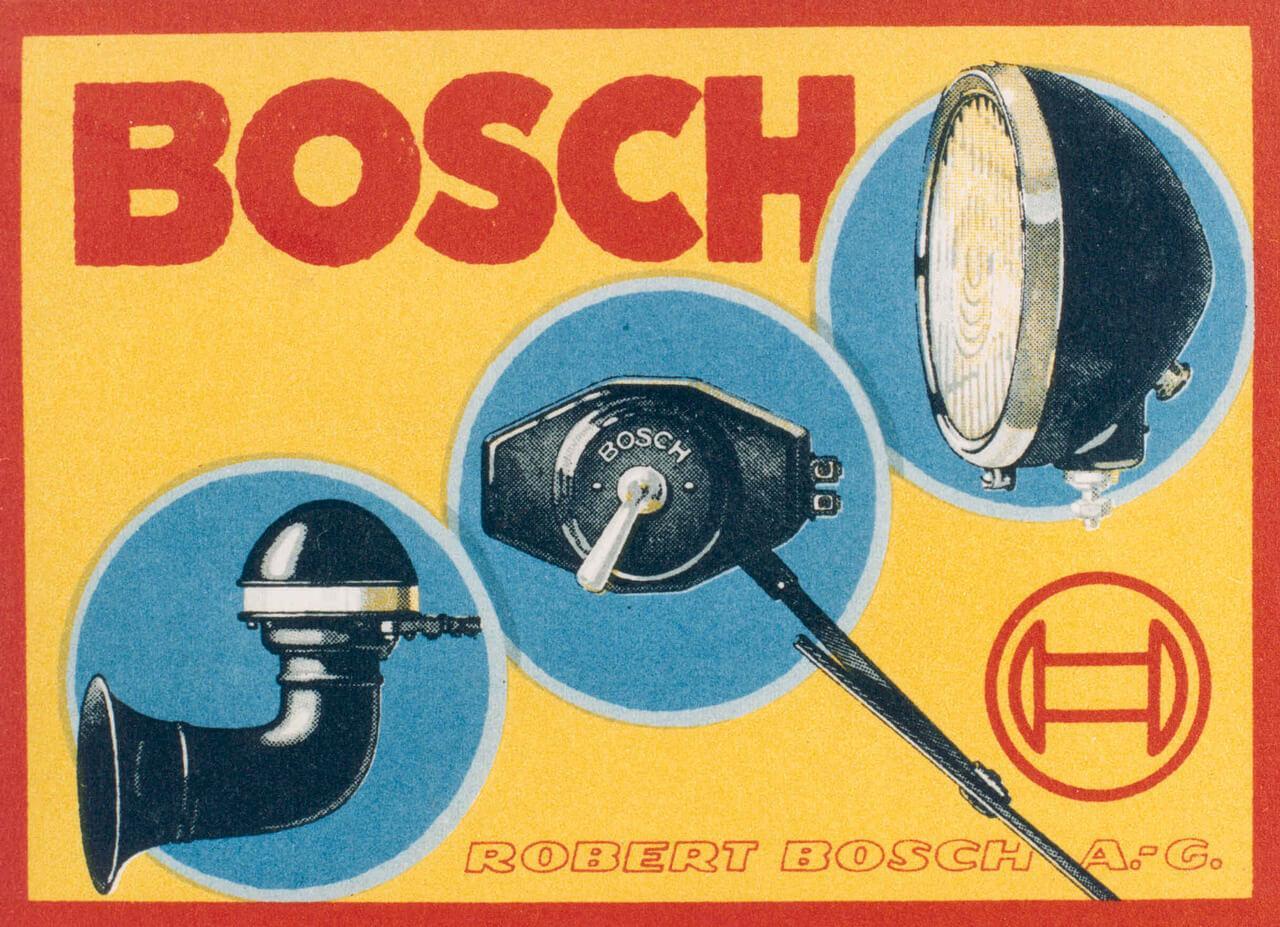 A vállalat egyik legfontosabb terméke volt a Bosch kürt, ezt a korabeli plakátok is bizonyítják