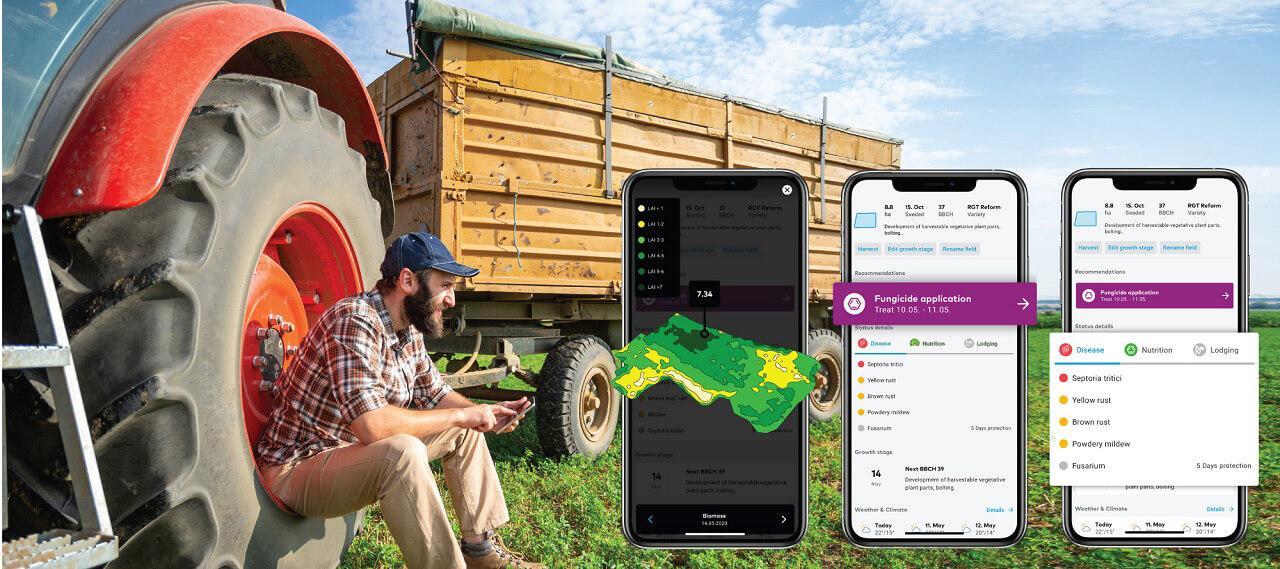 A szoftver hasznos segítség a gazdáknak, adatai bárhonnan elérhetők