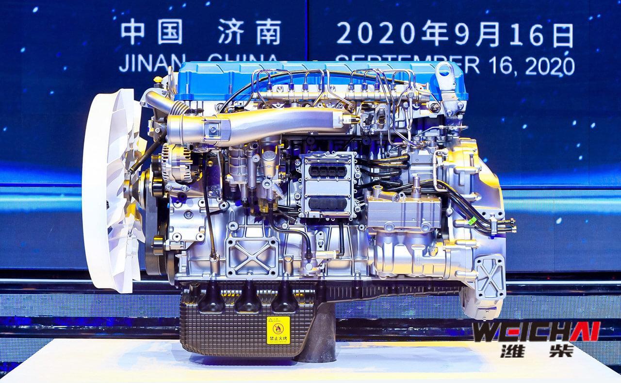 A Weichai Power és a Bosch közös fejlesztésű dízelmotorja átlépte a 50 százalékos hatásfokot